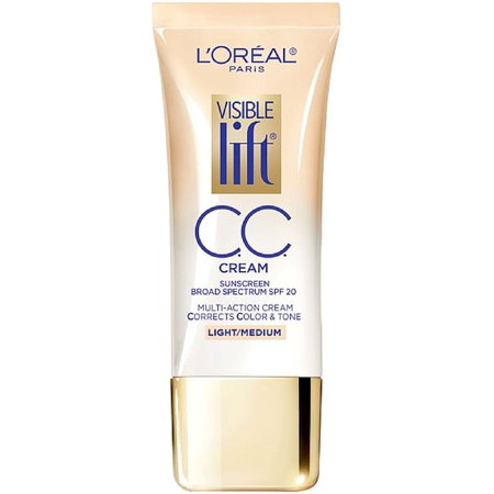 L'Oreal Paris Visible Lift CC Cream, Light/Medium 1