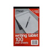 Mead Plain Writing Tablet 6 x 9 Inches 100 Sheets (70104)