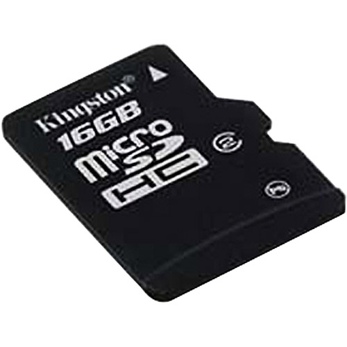 Kingston 16 GB Class 2 microSDHC Flash Memory Card SDC2/16GB