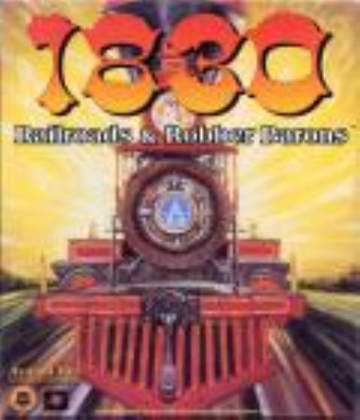 1830 Railroads & Robber Barons (PC CD-Rom) Lightly Used Condition by Computer Games Avalon Hill