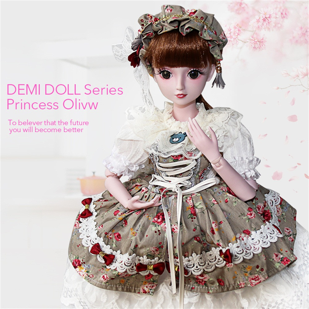 BJD Doll SD Doll 60cm/24inch Princess Bride for Girl Gift and Dolls Collection