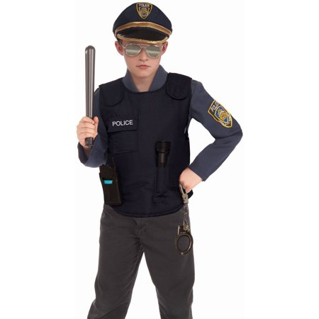 Halloween Child Police Vest Costume - Bullet Proof Vest Halloween