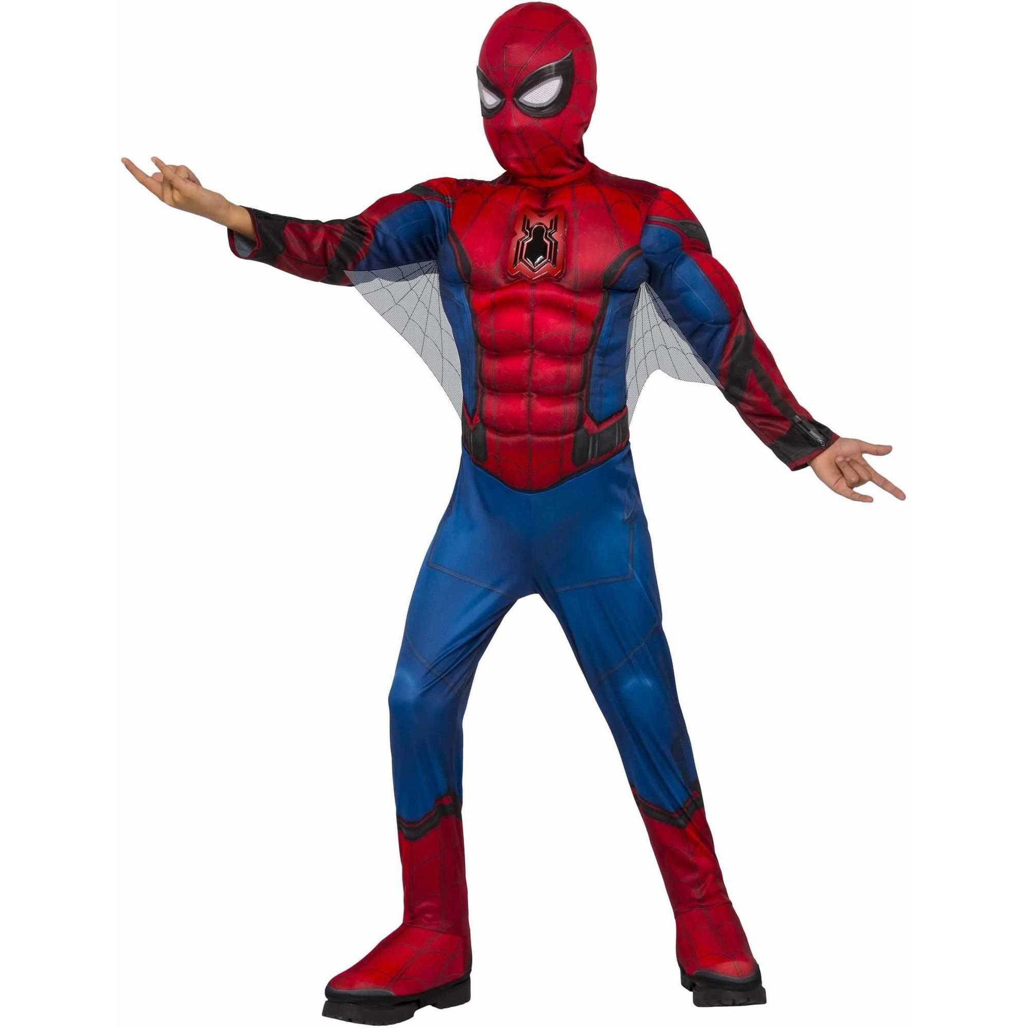 Deluxe Spider-Man Child's Costume, Medium (8-10)