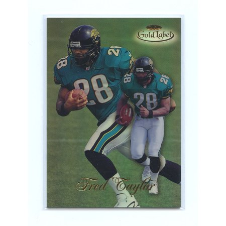 - 1998 Topps Gold Label #17 Fred Taylor Jacksonville Jaguars Rookie Card