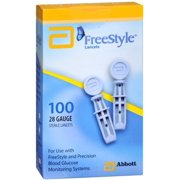FreeStyle Lancets 100 Each (Pack of 2)