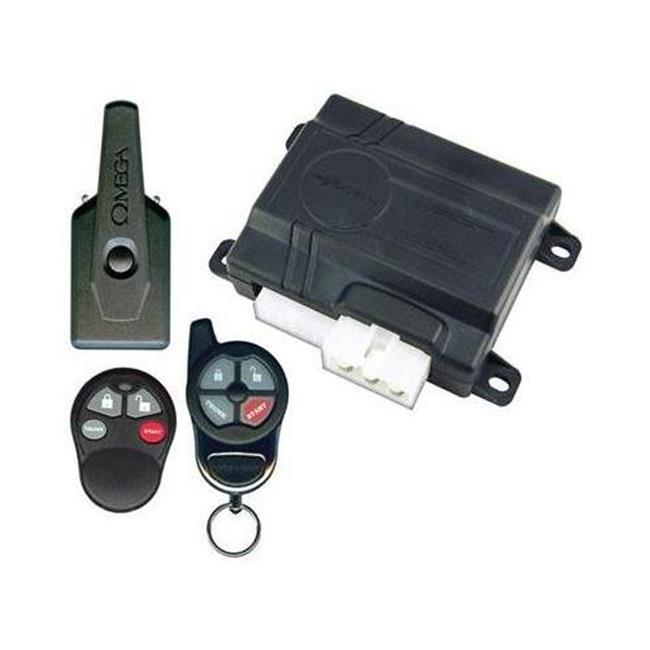 Excalibur - Omega RS351EDP Deluxe Keyless Entry & Remote Start System
