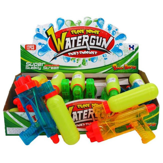 DDI 2322339 9 in. Assorted Color Water Gun Play Set Case of 72 by DDI