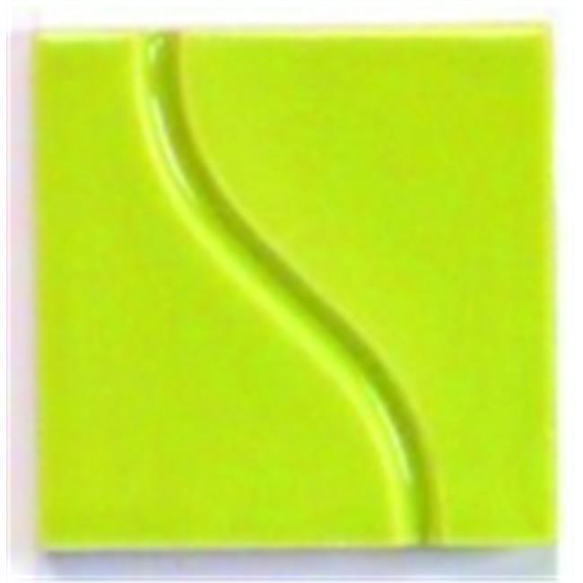 Lead-Free Non-Toxic Gloss True Flow Glaze - 1 Pt. - Spring Green