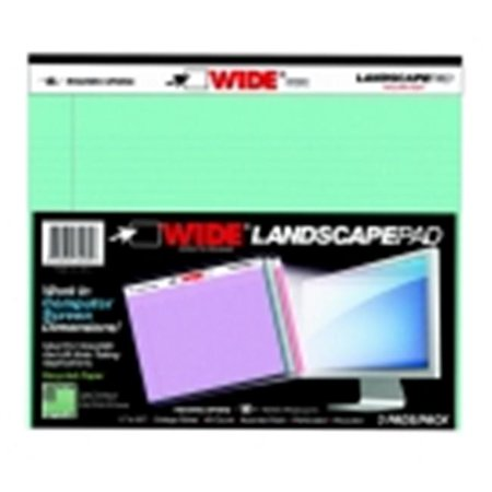 Roaring Spring 11 X 9 5 In  Wide College Ruled Landscape Oriented Legal Pad  Pack 3