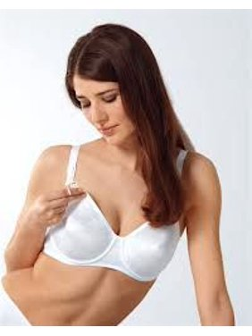 dde866d31 Product Image Anita 5068 Underwire Maternity Drop Cup Smooth Nursing Bra  White Various Size