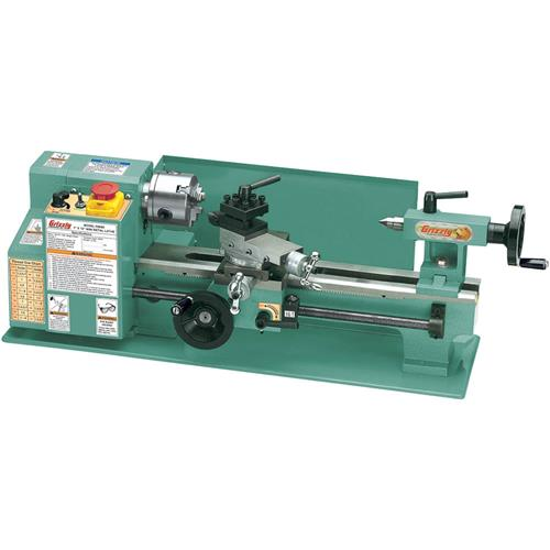"Grizzly G8688 7"" x 12"" Mini Metal Lathe"