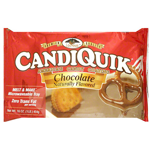 Log House America's Candiquik Chocolate Candy Coating, 16 oz (Pack of 12)