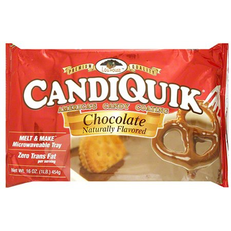 Candy Coating - Log House America's Candiquik Chocolate Candy Coating, 16 oz (Pack of 12)