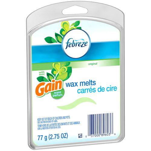 Febreze Wax Melts Gain Original Air Freshener, 2.75 oz