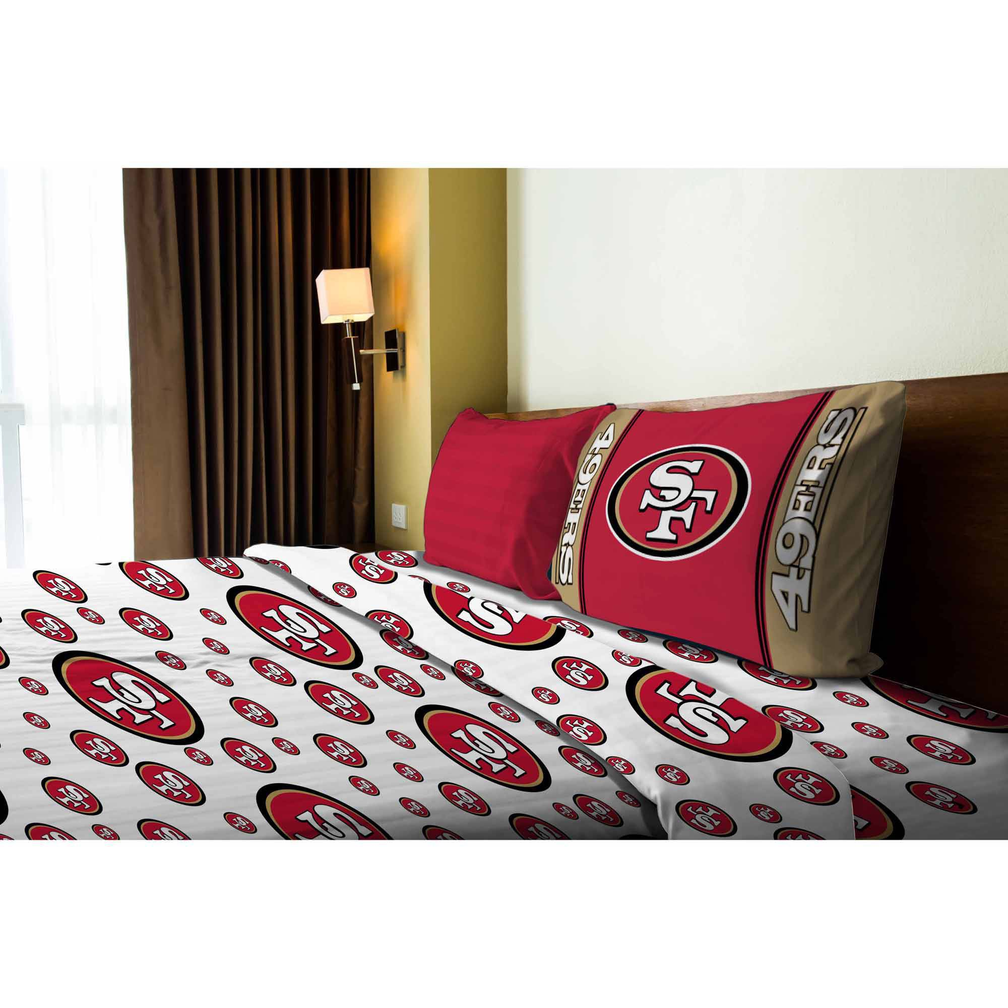 NFL San Francisco 49ers Sheet Set