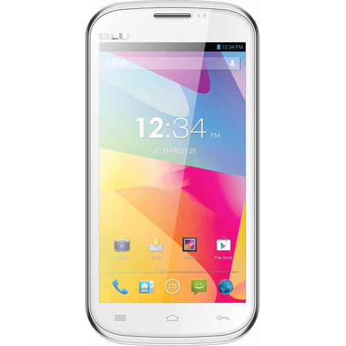 BLU Studio 5.0 E D530e GSM Dual-SIM Android Cell Phone (Unlocked), White