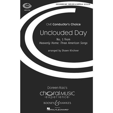 Boosey and Hawkes Unclouded Day (No. 1 from Heavenly Home: Three American Songs) SSAATTBB A Cappella by Shawn - Heavenly Home