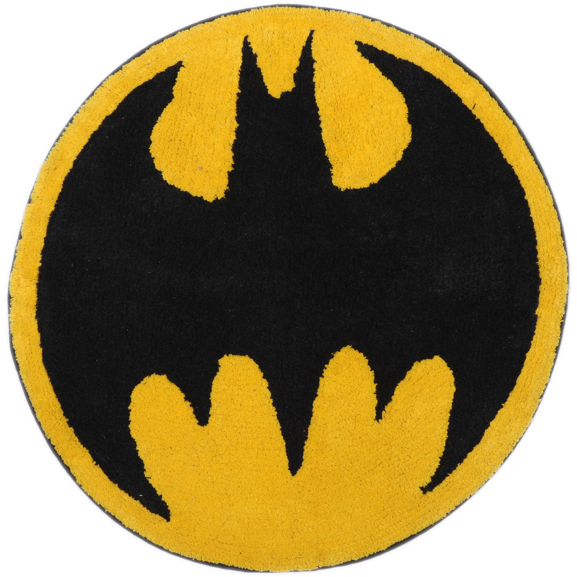 Batman Logo Tufted Bath Rug