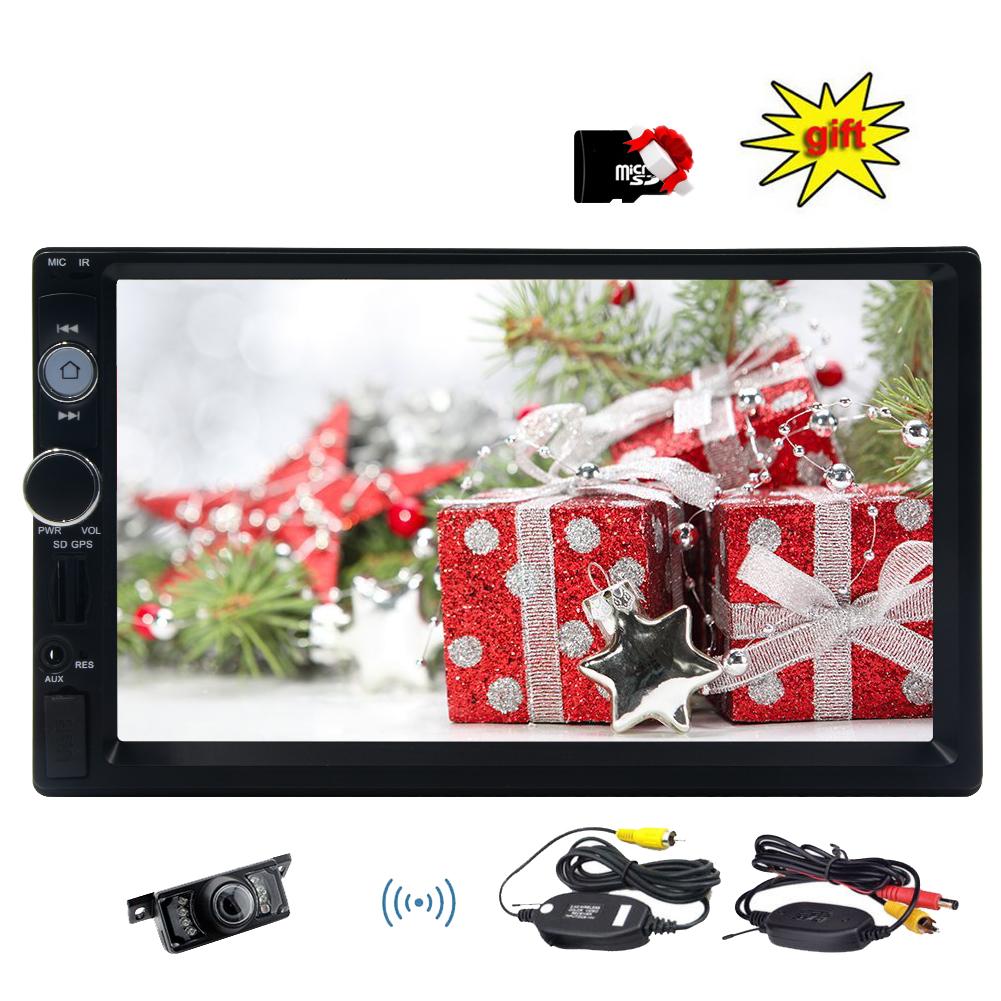 7 Inch LCD Digital Touch Screen Car Radio Player Bluetoot...