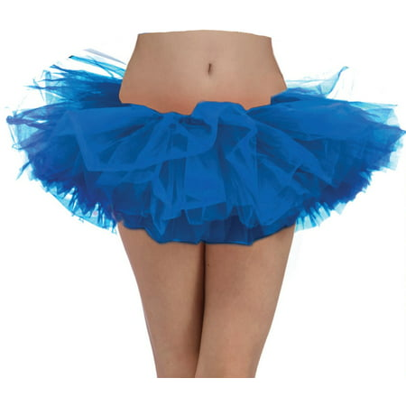 Blue Tutu-Adult Halloween Costume - Blue Tutu Costumes