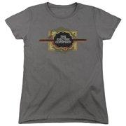 Electric Company Logo Womens Short Sleeve Shirt