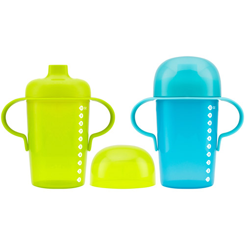 Boon Sip Firm Spout Sippy Cup - 10oz Blue / Green (2pk)