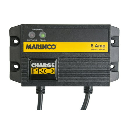 Marinco Waterproof One Bank Charger 6A/124 120V