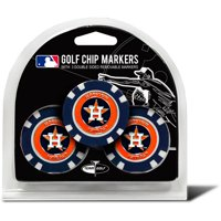 Team Golf MLB Houston Astros 3 Pack Golf Chip Ball Markers