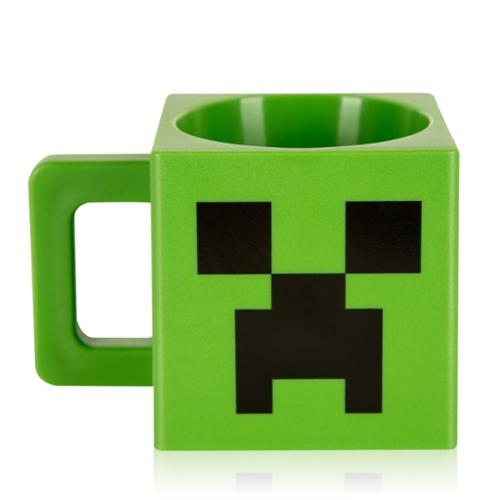 Minecraft Plastic Creeper Face Mug