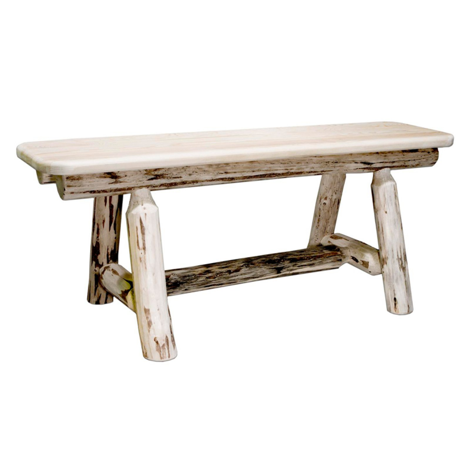 Montana Woodworks Plank Style Bench - 45 in.
