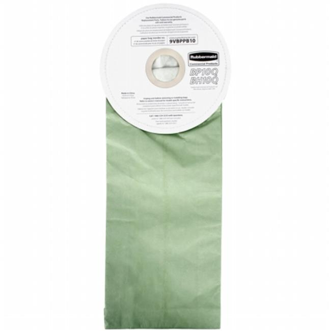 Rubbermaid Commercial Products 9VBPPB10CT Vacuum Bags For...