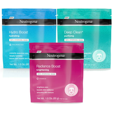 Neutrogena Hydro Boost Face Mask Variety Pack (3 (Best Home Face Pack)