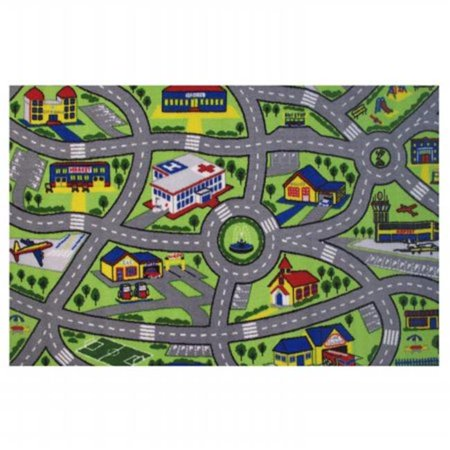 LA Rug, Fun Rugs  Driving Fun Kids Rug