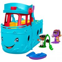 Little People Travel Together Friend Ship Playset with Accessories