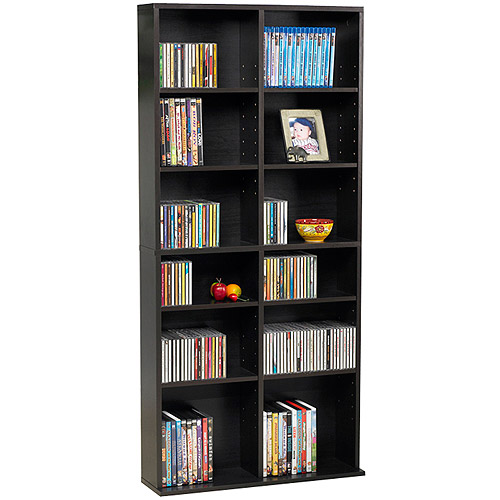 Atlantic Oskar 464 Media Shelf Storage Wall Unit Walmartcom