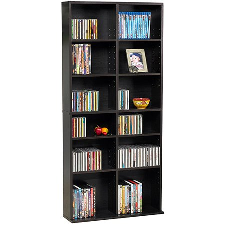 Atlantic Oskar 464 Media Shelf Storage Wall Unit