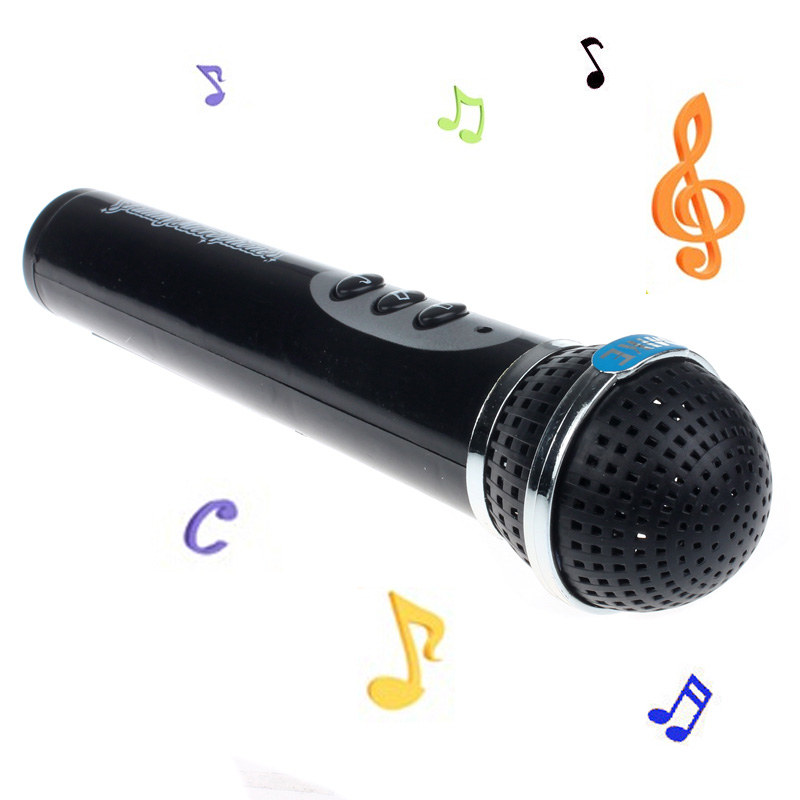 Binmer Girls Boys Microphone Mic Karaoke Singing Kid Funny Gift Music Toy BK by