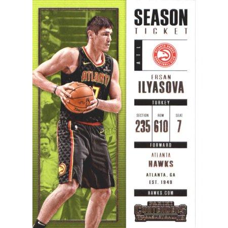 2017-18 Panini Contenders Season Ticket #49 Ersan Ilyasova Atlanta Hawks Basketball Card](Atlanta Halloween Ball 2017)