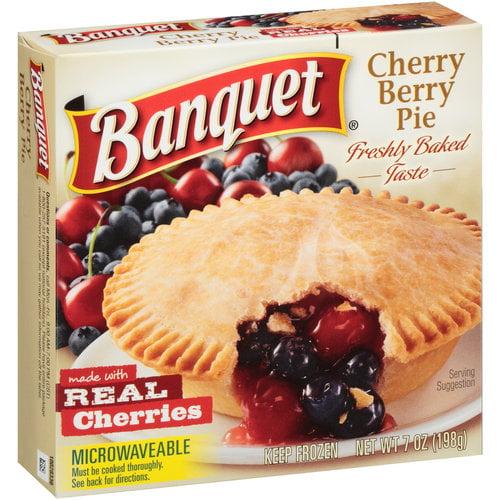 Banquet Cherry Berry Pie, 7 Oz