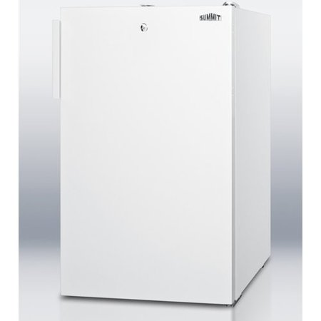 - Summit Appliance Accucold 19.25-inch 4.1 cu.ft. Compact Refrigerator with Lock