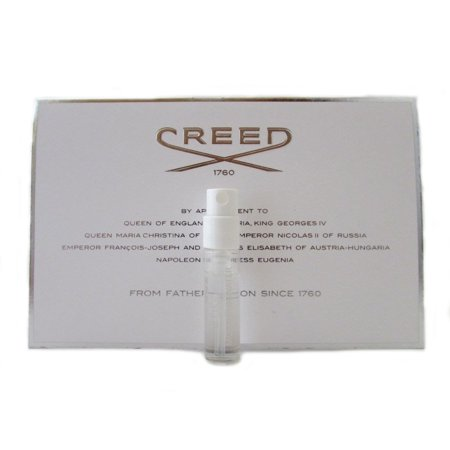 Creed Silver Mountain Water Vial for Men 0.08 oz 2.5 ml Travel Spray (Creed Silver Mountain Water)