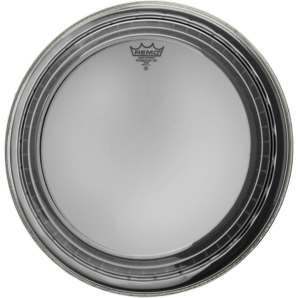 Remo Powerstroke Pro Bass Clear Drumhead 18 in.
