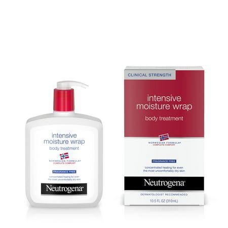 Neutrogena Norwegian Formula Intensive Moisture Wrap Body Treatment Ff  10 5 Oz