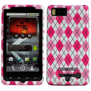 MOTOROLA DROID RAZR MAXX FLEX BODY GLOVE CASE - BLACK