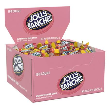 Lavender Candy Buffet (Jolly Rancher Hard Candy, Watermelon, 160 Pieces, Bulk)