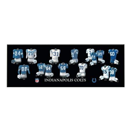 Winning Streak - NFL Uniform Plaque, Indianapolis Colts