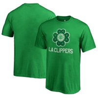 LA Clippers Fanatics Branded Youth St. Patrick's Day Luck Tradition T-Shirt - Kelly Green