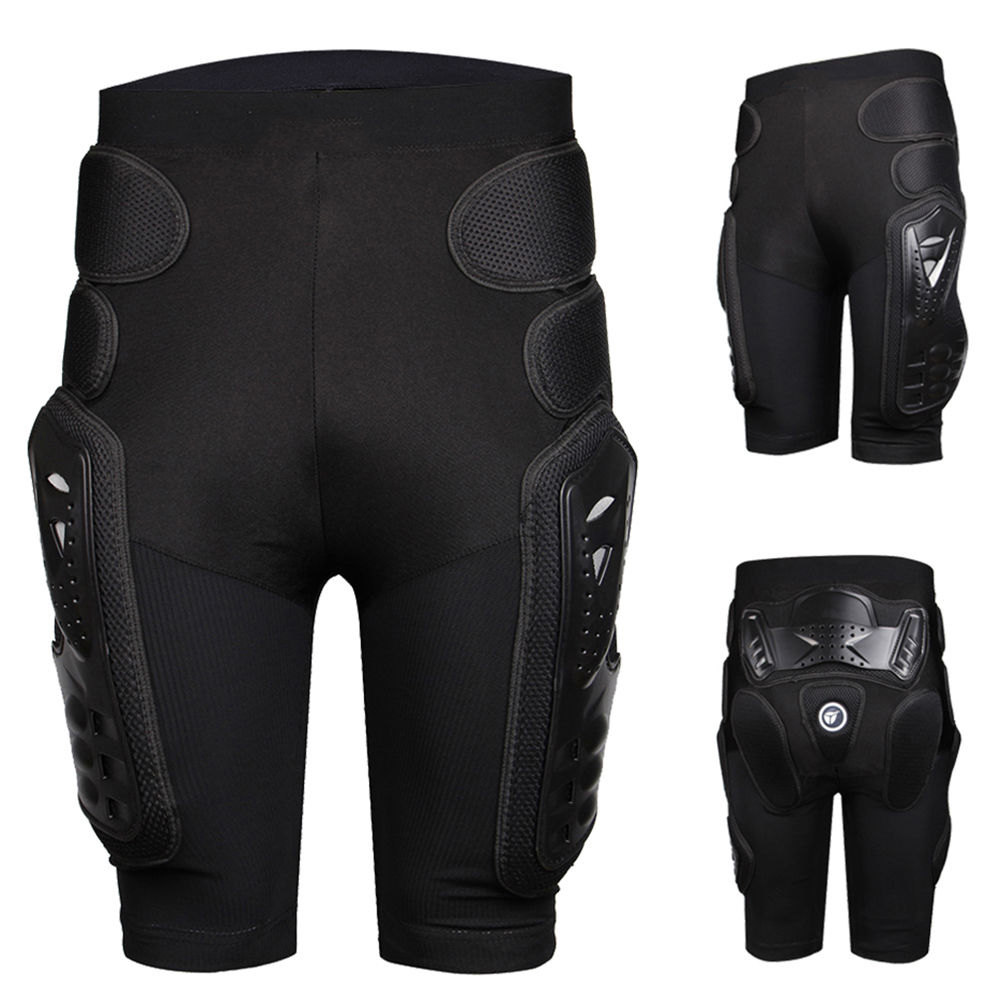 Unisex Moto Sport Protective Gear Hip Pad Motorcross Off-Road Downhill Mountain Bike Skating Ski Hockey Armor Shorts M by