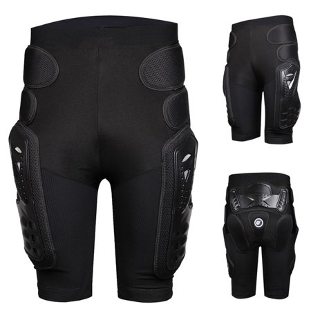 Riding Armor Pants, Heavy Duty Body Protective Shorts Motorcycle Bicycle Ski Armour Pants for Men & Women Cordura Motorcycle Pants
