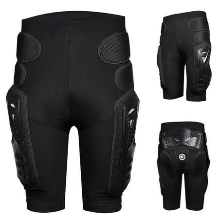 Protective Armor Pants, 3D Protection Hip EVA Paded Short Pants Protective Gear Guard Pad Ski Skiing Skating Snowboard